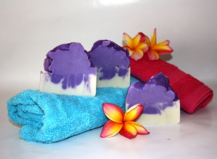 Purple Haze olive oil hand crafted gift soap for online shopping