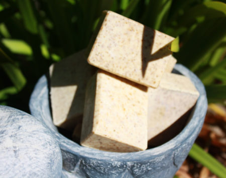 gardeners glee hard working soap Scrubs of dirt and grime, leaving hands clean, soft and smelling fresh.