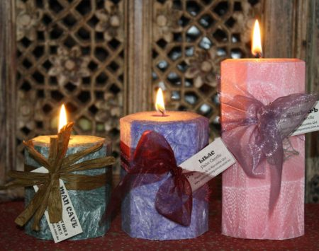 octagonal scented candles