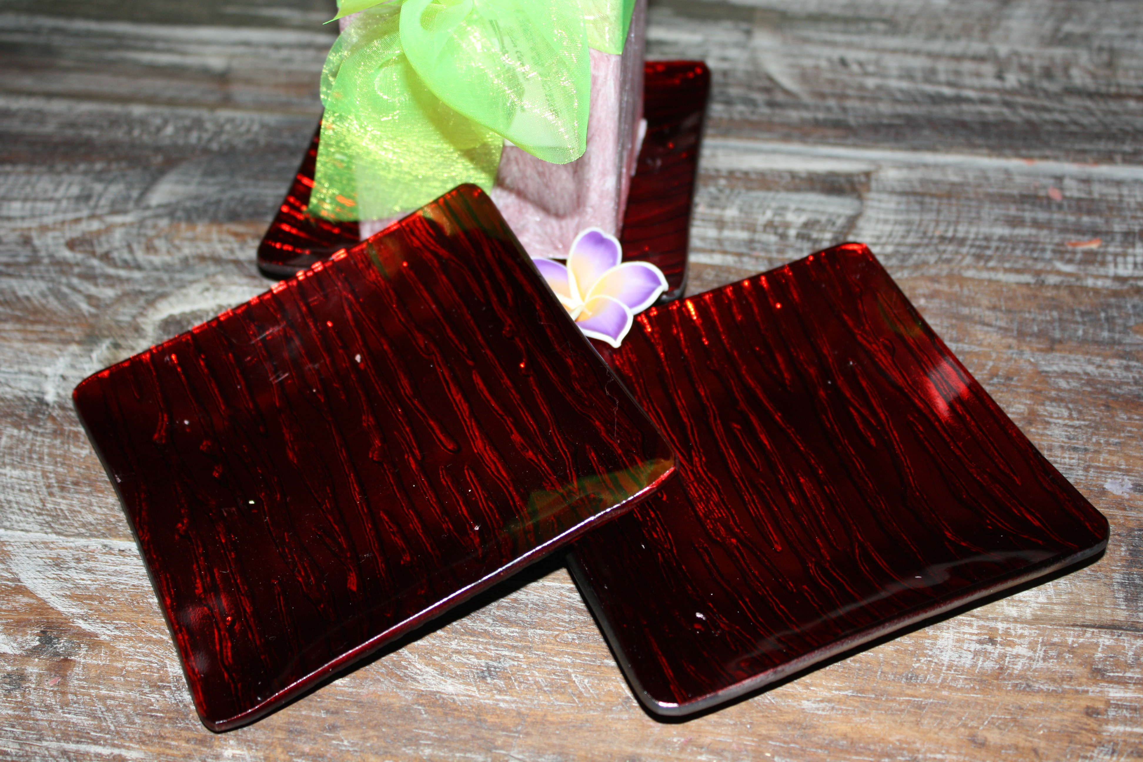 Red Square Candle Plate. RSS. $5.95 & Red Square Candle Plate